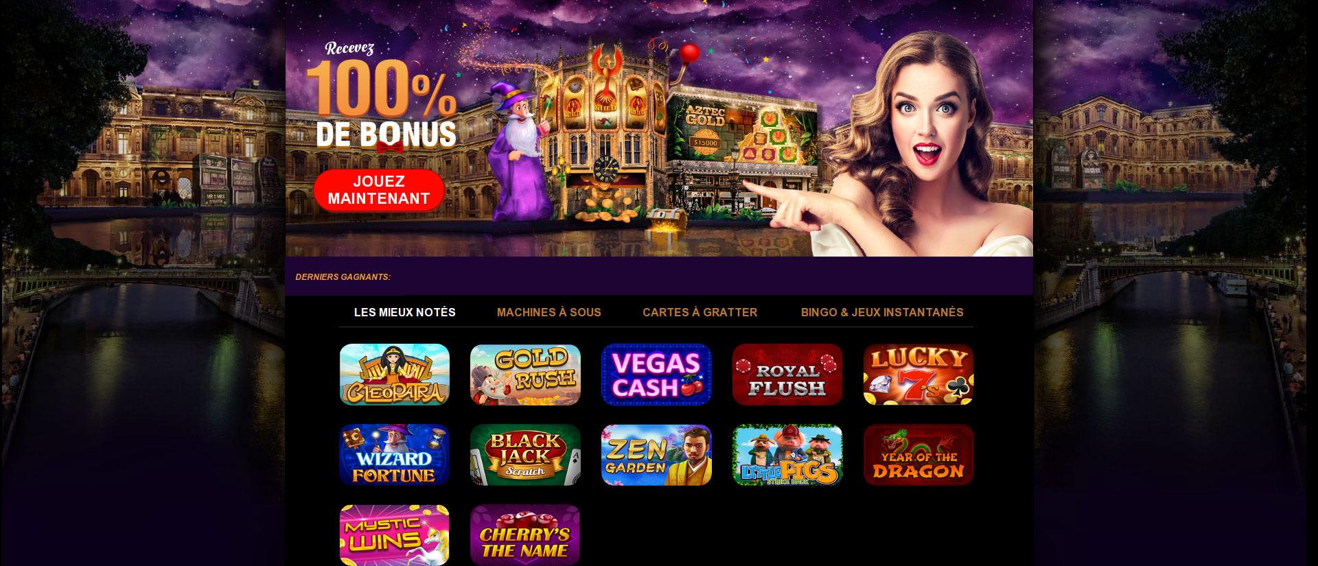 Gratowin casino